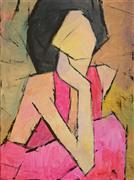 people art,pop culture art,acrylic painting,Pretty Woman