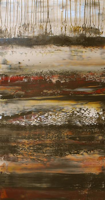 Original art for sale at UGallery.com | Eastern Ore by LISA CARNEY | $875 |  | 36' h x 18' w | ..\art\acrylic-painting-Eastern-Ore