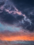 Landscape art,Nature art,photography,Orange Pink and Blue Sky