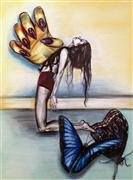 fantasy art,people art,surrealism art,drawing artwork,Release the Anguish