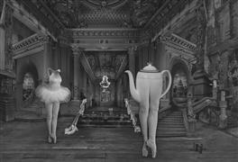 Architecture art,People art,Surrealism art,photography,Tea Dance