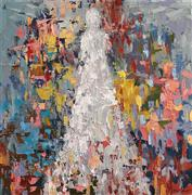 abstract art,fantasy art,people art,oil painting,Find Me Standing in the Light II
