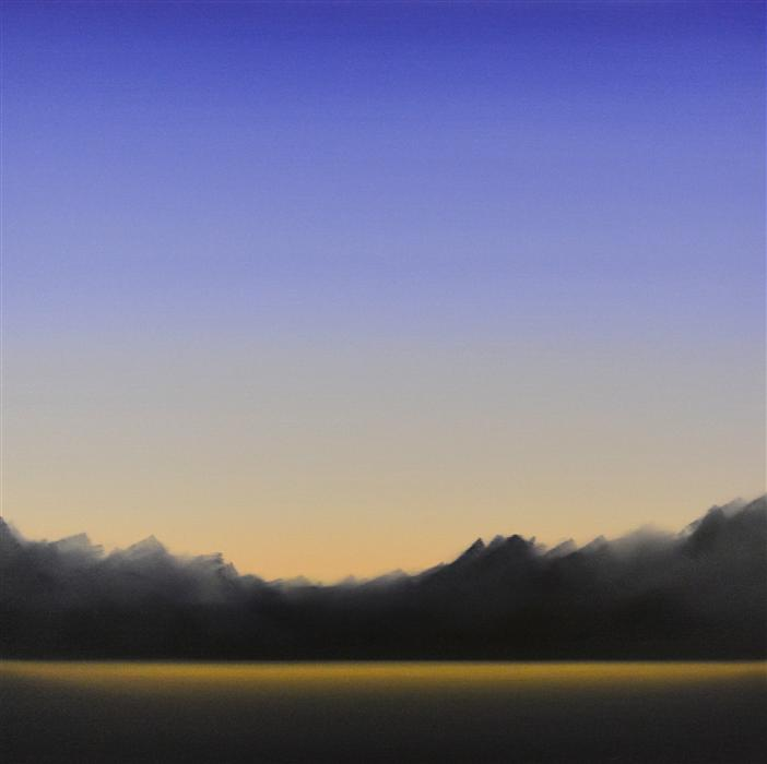 Original art for sale at UGallery.com | Clearing 481 by JOHN DIEHL | $1,750 |  | 33' h x 33' w | ..\art\oil-painting-Clearing-481