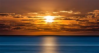 Nature art,Seascape art,photography,Great South Bay Sunrise Panorama