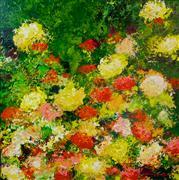 Abstract art,Nature art,Flora art,acrylic painting,Charleston