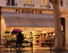 buildings art,city art,travel art,photography,Rain on St Germain
