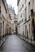 Architecture art,City art,Travel art,photography,Quiet Morning in the Marais