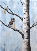 Animals art,Nature art,Surrealism art,acrylic painting,Spring Will Come