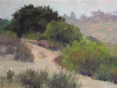 impressionism art,landscape art,nature art,oil painting,Florida Canyon 2