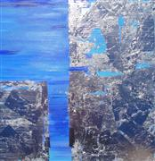 Abstract art,Expressionism art,acrylic painting,Naxos 1/2