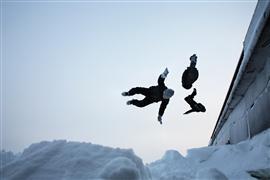 People art,Surrealism art,photography,Triple Somersault