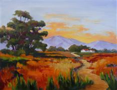 Impressionism art,Landscape art,oil painting,Landon Park
