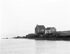 Architecture art,Seascape art,photography,Fish Shacks in Fog