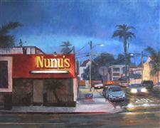 Architecture art,Landscape art,City art,oil painting,Nunu's