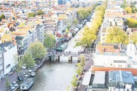 Architecture art,Travel art,photography,Tilt Shift Amsterdam