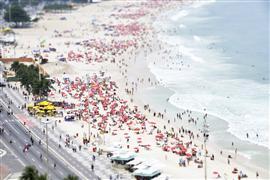 People art,Seascape art,Travel art,photography,Tilt Shift Rio