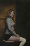 People art,oil painting,A