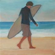 People art,Seascape art,Sports art,acrylic painting,Surfer, Three