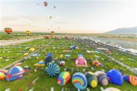 fantasy art,landscape art,vroom vroom! art,photography,Tilt Shift Balloons