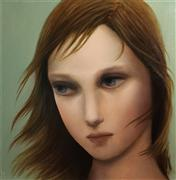 fantasy art,people art,surrealism art,oil painting,Misty