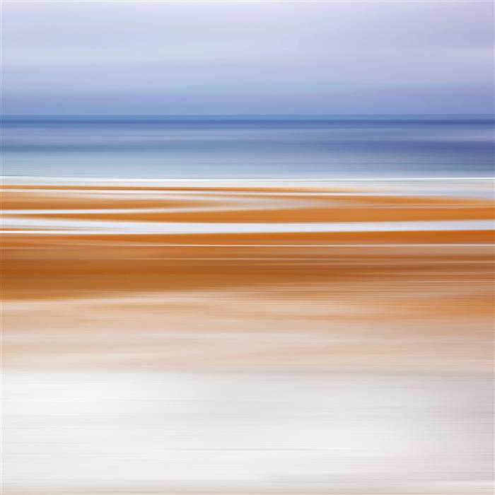 Original art for sale at UGallery.com | Foggy Evening at Low Tide by Katherine Gendreau | $275 | photography | 20' h x 20' w | ..\art\photography-Foggy-Evening-at-Low-Tide