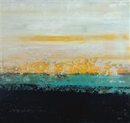 Abstract art,Nature art,acrylic painting,Lemon Sonata