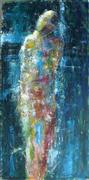 fantasy art,people art,surrealism art,acrylic painting,Within