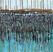 abstract art,landscape art,acrylic painting,Low Tide