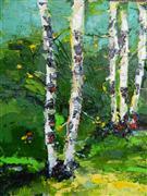 nature art,botanical art,oil painting,Elegance of Peace