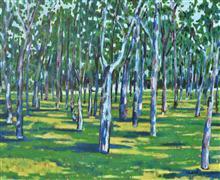Landscape art,Nature art,Flora art,oil painting,Trees (Arboles)