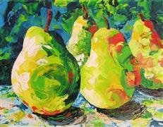 Impressionism art,Still Life art,acrylic painting,Resonant Encounter