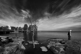 Landscape art,Seascape art,Surrealism art,photography,On Island