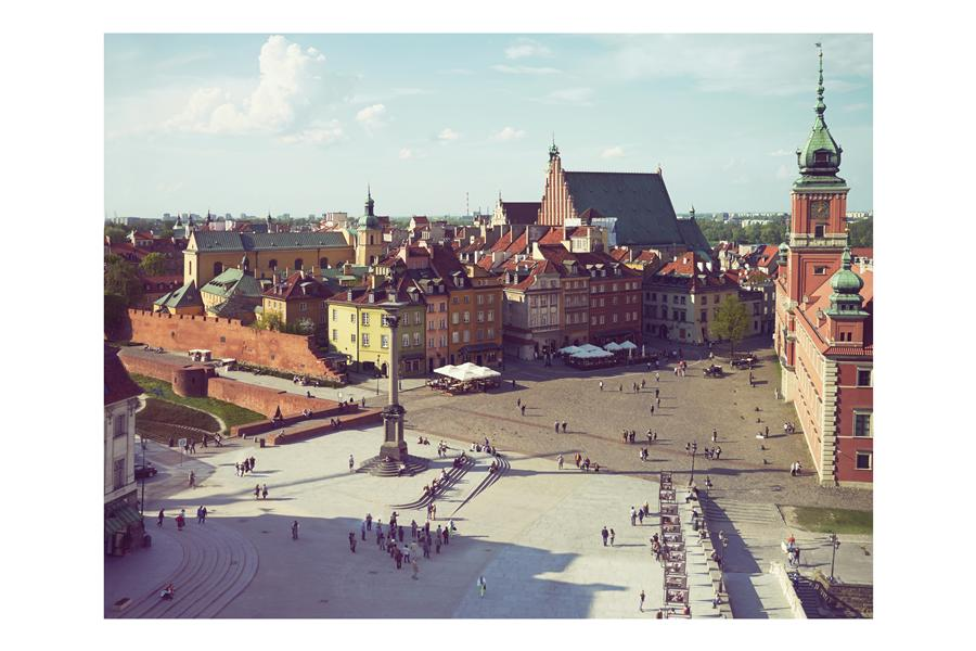 Original art for sale at UGallery.com | Warsaw Old Town, Poland by Bryan Solarski | $300 | photography | 30' h x 20' w | ..\art\photography-Warsaw-Old-Town-Poland