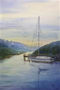 nature art,seascape art,watercolor painting,Hidden