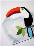 Animals art,Pop art,Representational art,acrylic painting,Handbag No. 1