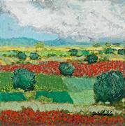 landscape art,nature art,acrylic painting,Sweet Light