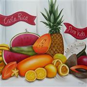 Still Life art,oil painting,Tropical Still Life II