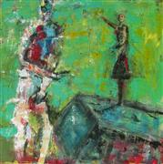 Expressionism art,People art,acrylic painting,Our Perspective