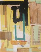 abstract art,expressionism art,mixed media artwork,JAZZ DANCER