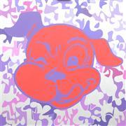 Animals art,Pop art,oil painting,Good Doggie