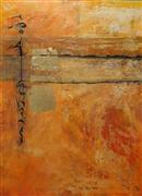 Abstract art,acrylic painting,Ancient Truth