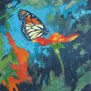 Animals art,Nature art,oil painting,Butterfly 1