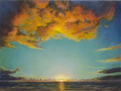 Impressionism art,Nature art,Seascape art,oil painting,Paradise II