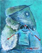 Children's art,Fantasy art,Animals art,acrylic painting,Hobby