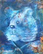 Children's art,Animals art,acrylic painting,Veteran