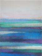 Abstract art,Seascape art,acrylic painting,SeaView