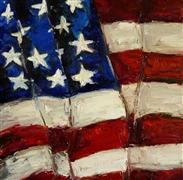 Pop art,oil painting,Furled