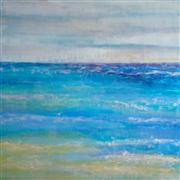 abstract art,seascape art,acrylic painting,Under the Influence