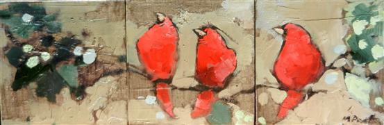 Impressionism art,Animals art,oil painting,Pretty Bird