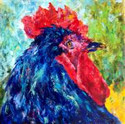 Impressionism art,Animals art,acrylic painting,Whiskey (Angel's Share)